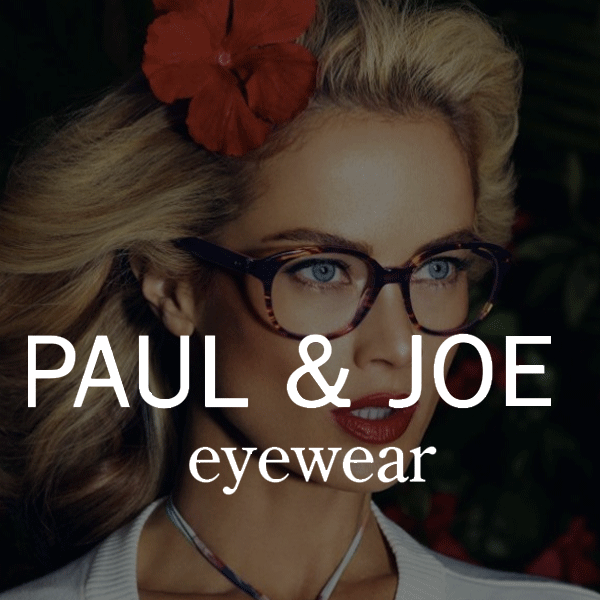 Collection lunettes Paul & joe